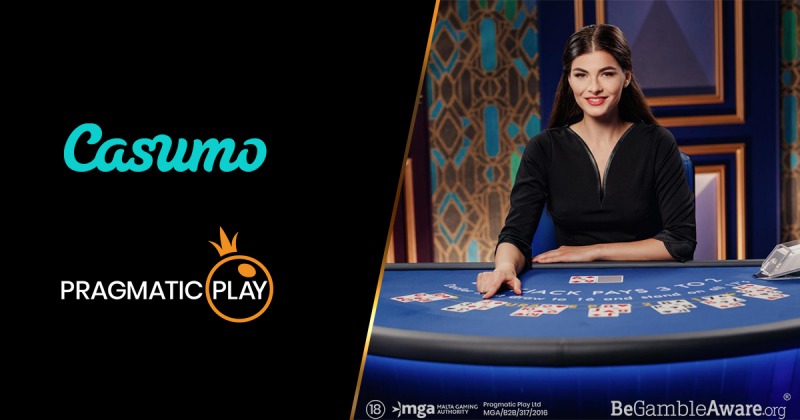 Slots And Live Casino Products From Pragmatic Play Now On Casumo