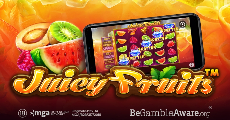 Juicy Fruits Is The Newest Fruit-Inspired Slot From Pragmatic Play